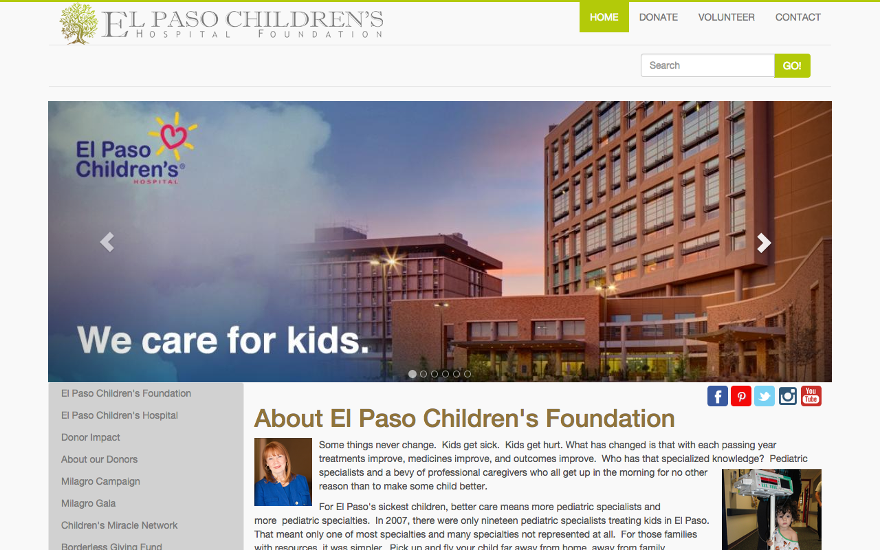 El Paso Children's Foundation - FarisWheel Productions