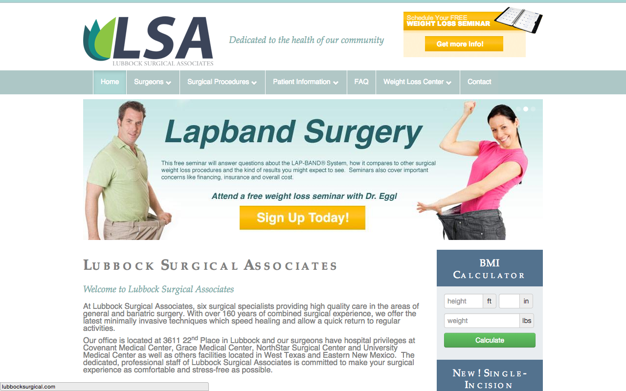 Lubbock Surgical Association - FarisWheel Productions