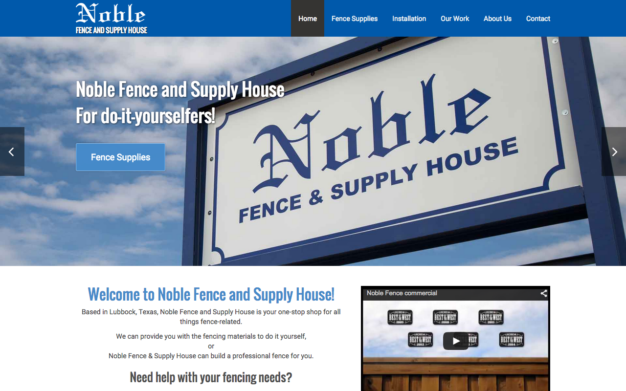Noble Fence - FarisWheel Productions