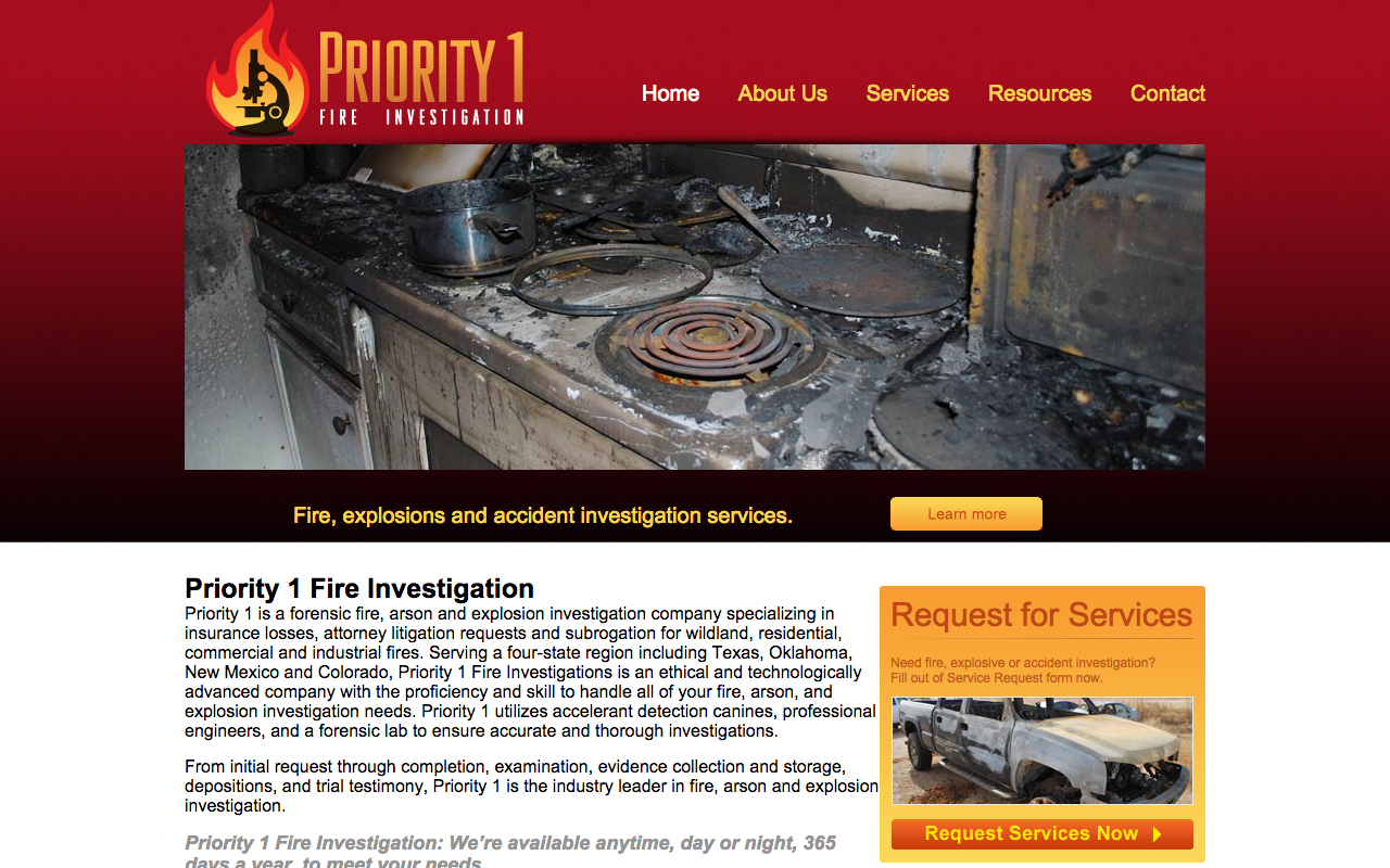 Priority 1 Fire Investigation - FarisWheel Productions